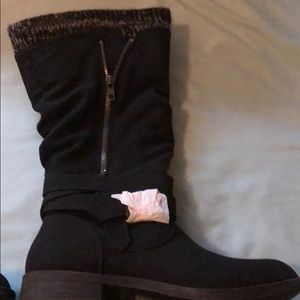 Shoes - New never worn black tall boots